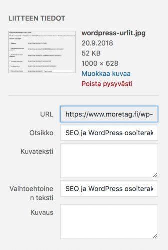 WordPress SEO ja kuvien nimeäminen